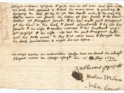 Deposition of Abigail Williams v. George Jacobs, Sr.
