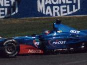 Jean Alesi driving the Prost AP04
