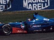 Jean Alesi driving the Prost AP04