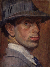 Isaac Rosenberg, by Isaac Rosenberg (died 1918), given to the National Portrait Gallery, London in 1959. See source website for additional information. This set of images was gathered by User:Dcoetzee from the National Portrait Gallery, London website usi