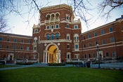 English: Weatherford Hall at Oregon State University in Corvallis, Oregon, USA.