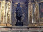 Statue of St. John the Baptist in the Duomo di Siena