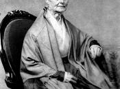 Lucretia Mott used Bible passages to answer those who argued for women's subservience.