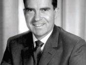 English: Vice President Nixon's portrait.