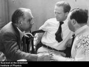 Niels Bohr, Werner Heisenberg, and Wolfgang Pauli, ca. 1935