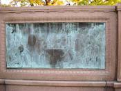 Right panel - Samuel Colt Memorial, Colt Park, Hartford, Connecticut, USA.