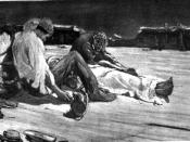 English: Illustration for Edgar Allan Poe's The Narrative of Arthur Gordon Pym, captioned