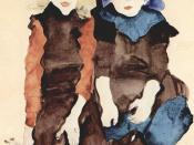 Mädchen, Egon Schiele 1911