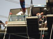 Saut à l'élastique Superman - Viaduc de la Souleuvre