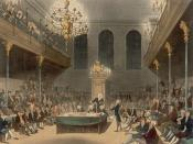 The House of Commons at Westminster: This engraving was published as Plate 21 of Microcosm of London (1808) (see File:Microcosm of London Plate 021 - House of Commons.jpg).