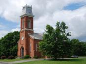 English: Gilead Lutheran Church in Brunswick, New York, United States