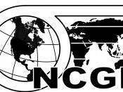 English: National Council for Geographic Education logo