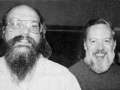 Photo of Unix creators Ken Thompson (left) and Dennis Ritchie (right) from the latest edition of the Jargon File