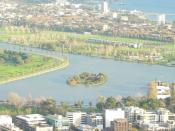 English: Albert Park and Lake. Melbourne, Victoria, Australia