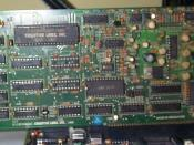 English: An old 8 bit Sound Blaster card seated in an 8 bit ISA slot. I took this picture back in 2001, though I no longer have this card, and so am not able to take a better version.