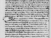 English: One of the last letters between former President Thomas Jefferson and Abigail Adams, wife of former President John Adams. Written by Jefferson at Monticello, his Virginia home, 15 May 1817. The Thomas Jefferson Papers, Series 1, General Correspon