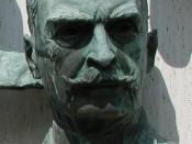 Karl Landsteiner, winner of the Nobel Prize in Physiology or Medicine (1930) Deutsch: Der Medizin-Nobelpreisträger Karl Landsteiner
