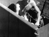 LTJG John F. Kennedy aboard the PT-109