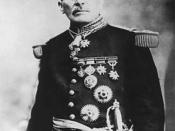 Larger picture. Photograph of Victoriano Huerta (1850-1916), Mexican dictator (1913-1914).