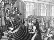 English: Siamese Embassy To Louis XIV, in 1686