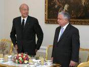 Polski: Valery Giscard d'Estaing i Lech Kaczyński, 07.07.2006