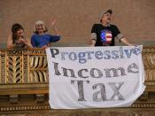 Progressive Income Tax Banner