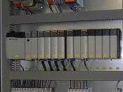English: Allen Bradley PLC for a sugar centrifugal installed in a control panel (BMA Automation GmbH) Deutsch: Allen Bradley SPS installiert in einem Schaltschrank (BMA Automation GmbH)