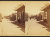 Santa Fe, San Miguel Street, by Jackson, William Henry, 1843-1942
