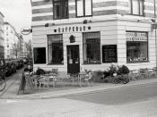 Kaffebar, Kopenhagen, Danmark
