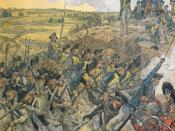 English: The French storming redoubt #9 during the Siege of Yorktown Category:Campaigns of the American Revolutionary War