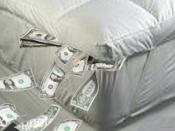 Stuffing Money in a Mattress