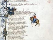 From the first page of Canterbury Tales: The Wife of Bath's Tale The Wife of Bath's Prologue