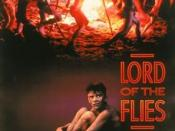 Film poster for Lord of the Flies - Copyright 1990, Columbia Pictures