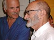 English: Jack Layton left, and Henry Morgentaler right, 22 August 2005. Source: http://www.flickr.com/photos/rabbleradio/37995864/ Attribution: Flickr user rabbleradio Category:Abortion images
