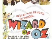 Wizard of OZ movie poster
