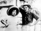 English: Hilda Gadea and Ernesto