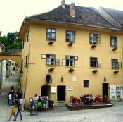 English: Born house of Vlad Tepes Dracula in Sighişoara (Transylvania, Romania) Polski: Dom narodzin Vlada Tepesa Draculi w Sighişoara (Transylwania, Rumunia)