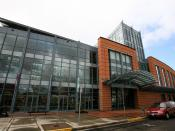 The Eugene Public Library in Eugene, Oregon.