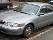 1998-2000 Mazda 626photographed in USA. Category:Mazda 626 GF