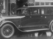 Lincoln Limousine used by U.S. President Calvin Coolidge, 1920s, from loc.gov