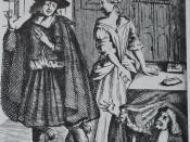 Français : Frontispice de la première édition du Tartuffe de Molière en 1669 par Brissard. Bibliothèque nationale.