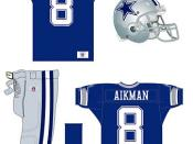 Dallas Cowboys' current away uniform