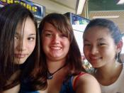 Rowan with Skye and Kelsey