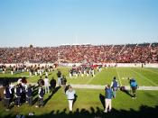 Half-time at The Game in 2005, Yale Bowl