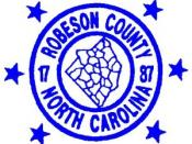 Seal of Robeson County, North Carolina
