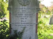 English: Gravestone of Sir Henry Bessemer