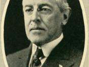 President Woodrow Wilson, the man with whom the phrase is often associated