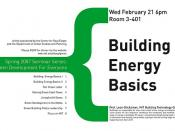 building energy basics