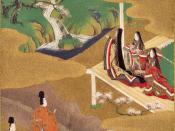 Ilustration of the Genji Monogatari, ch.5–Wakamurasaki Traditionally credited to Tosa Mitsuoki (1617–1691). Part of the Burke Albums, property of Mary Griggs Burke