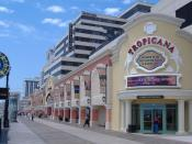 English: Picture of the Tropicana from the Boardwalk.